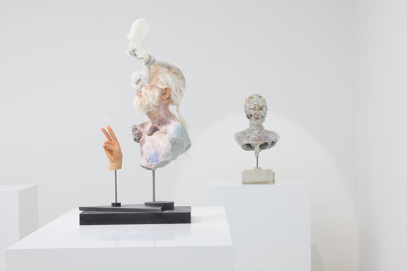 David Altmejd The Vibrating Man White Cube Hong Kong Art Basel Sculptures Crystals Expressionism Realism Science Magic Science Fiction Gothic Romanticism