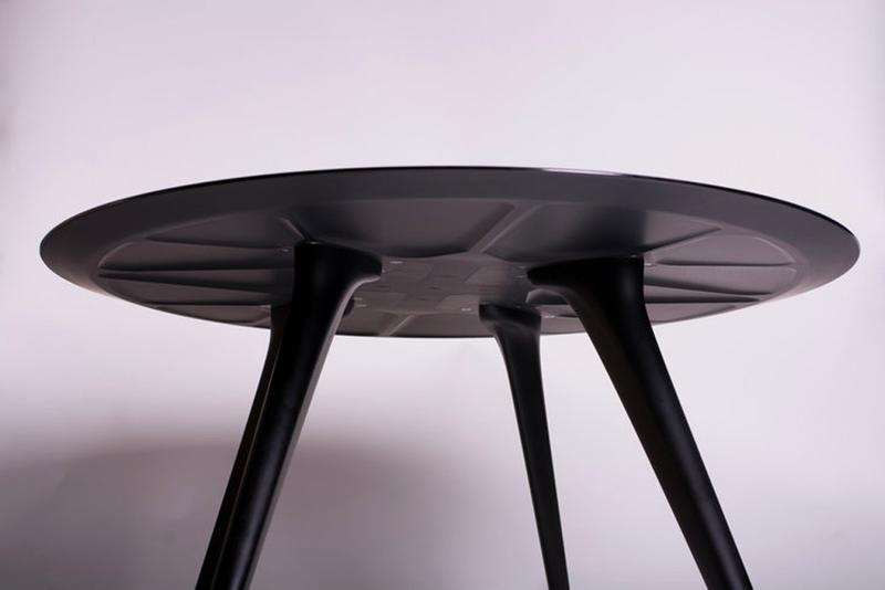 Discommon Releases Tailor-Made Coffee Tables With Emerging Vehicle Silhouettes car motorsport design furniture