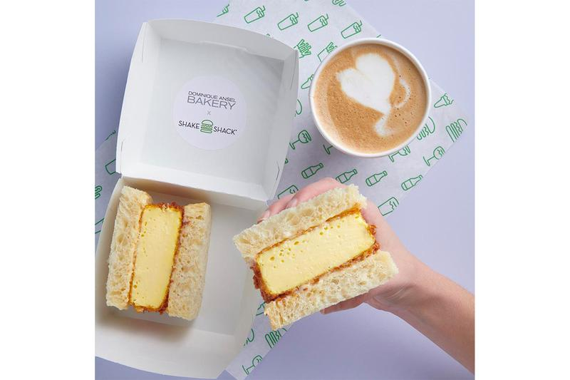 Dominique Ansel Bakery Shake Shack Come Katsu Egg Sando Announcement West Village New York Limited Cronut