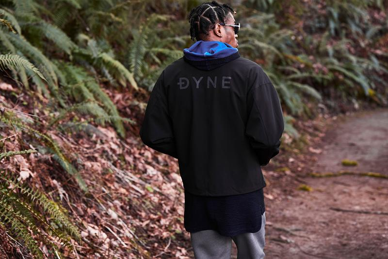 DYNE SS19 Spring Summer 2019 Collection Techwear Technical Jacket T Shirt Jumper Outdoor Tactical Sports Leggings Sweatpants Shorts