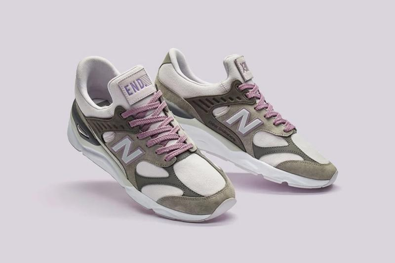 "END. Clothing New Balance X-90 Silhouette Sneaker ""Purple Haze"" Incense lilac grey pink release details date first look buy cop purchase raffle online"