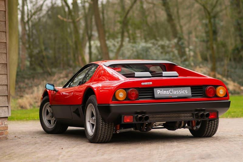Refurbished Ferrari 512 BBi Sale Info vintage cars supercars collectors prancing horse