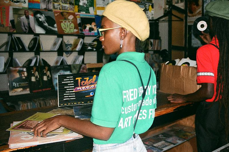 Art Comes First x Fred Perry Collaboration Collab Info Information Release Details Campaign Lookbook Imagery