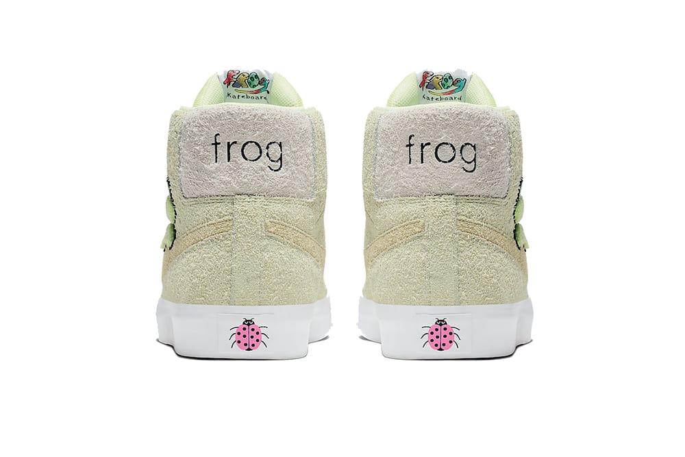 Frog Skateboards x Nike SB Blazer Mid
