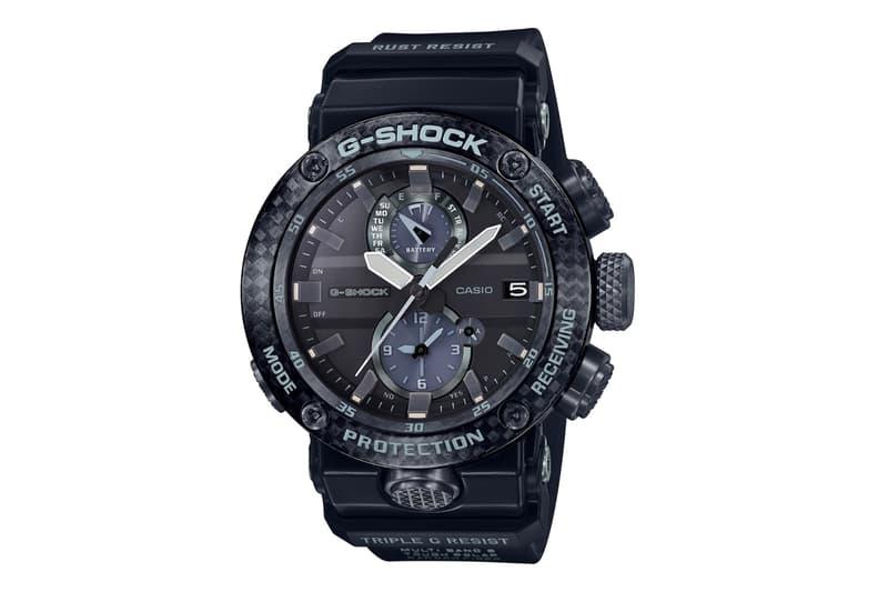 G Shock Carbon Monocoque Gravitymaster Release casio watches timekeeper