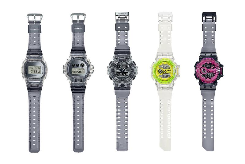 G-SHOCK Revives '90s-Inspired Transparent Watches