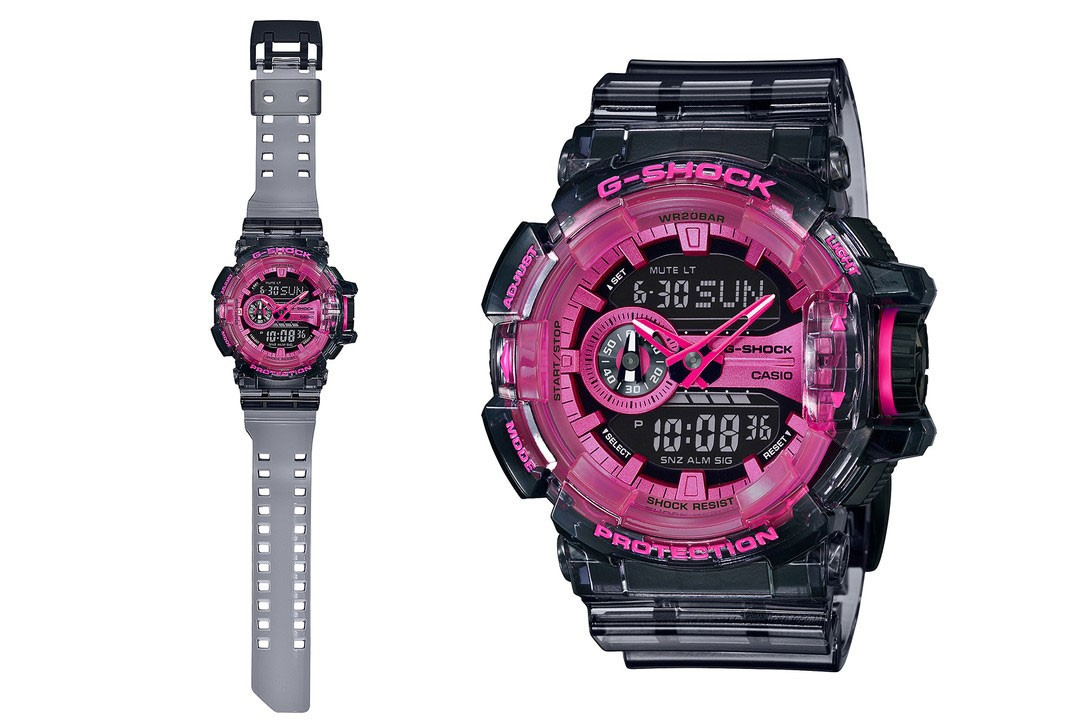 G Shock Drops 90s Style See Through Watches Hypebeast