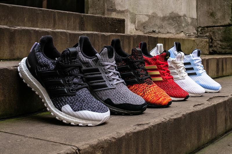 low priced 60dc7 8a9c1 adidas ultraboost game of thrones hbo sneaker collaboration targaryen  lannister stark dragon night s watch white walkers
