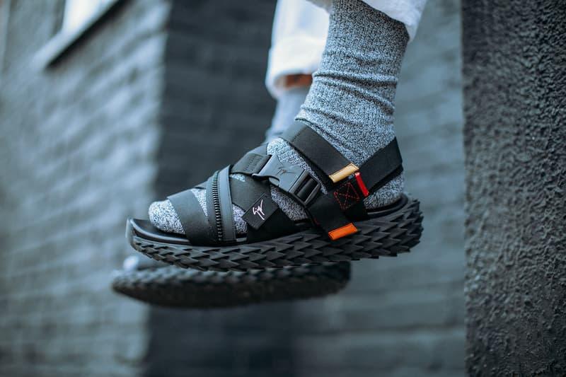 Giuseppe Zanotti Urchin Sandal Sneakers