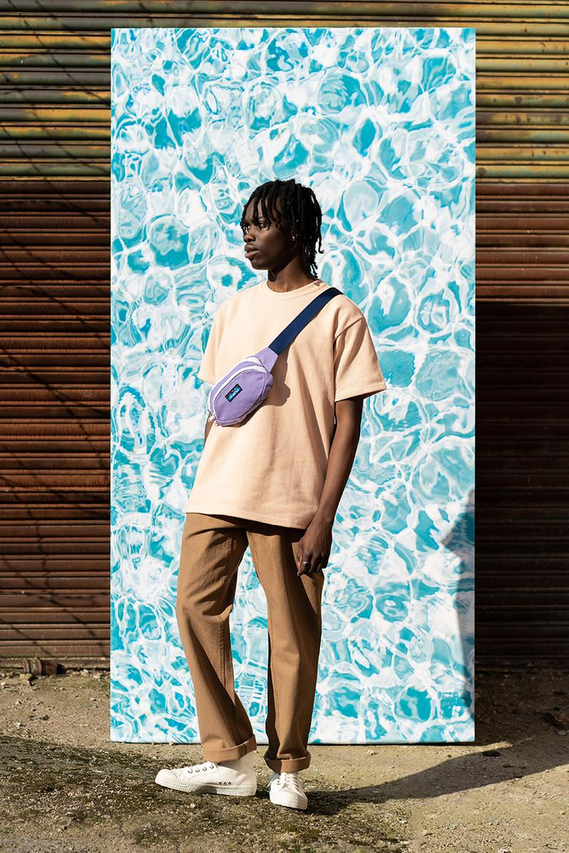 Good Measure Spring Summer 2019 SS19 Collection Lookbook Saturated Colors Bright Staples T Shirts Hats Sweaters Hoodies Trousers Shorts oversized