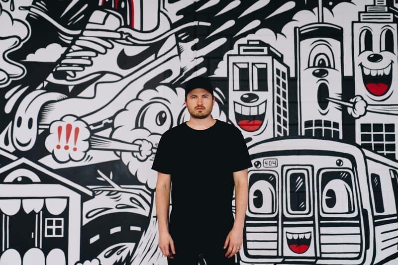 Greg Mike x Nike SNKRS Atlanta Mural Installation | HYPEBEAST