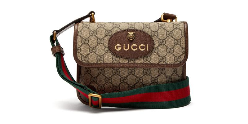 Gucci Spring/Summer 2019 Supreme Messenger Bag GG logo print canvas strap price buy sale
