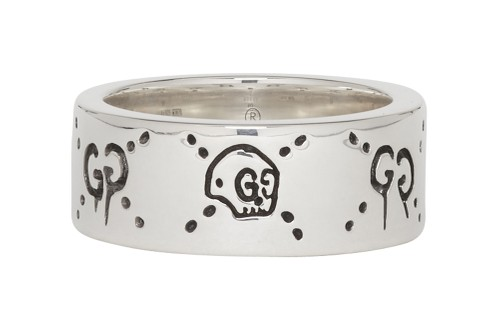"Gucci Drops Silver-Coated ""GucciGhost"" Ring"