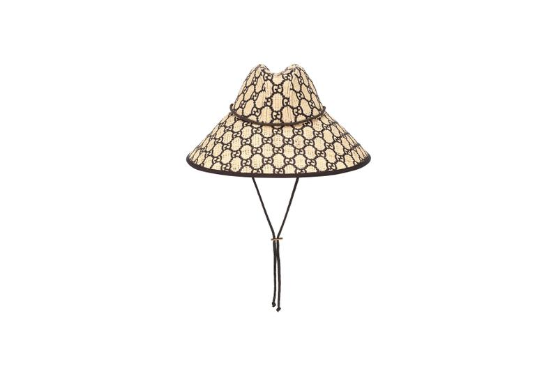 Gucci GG Raffia Wide-Brim Hat where to buy 2019 price release