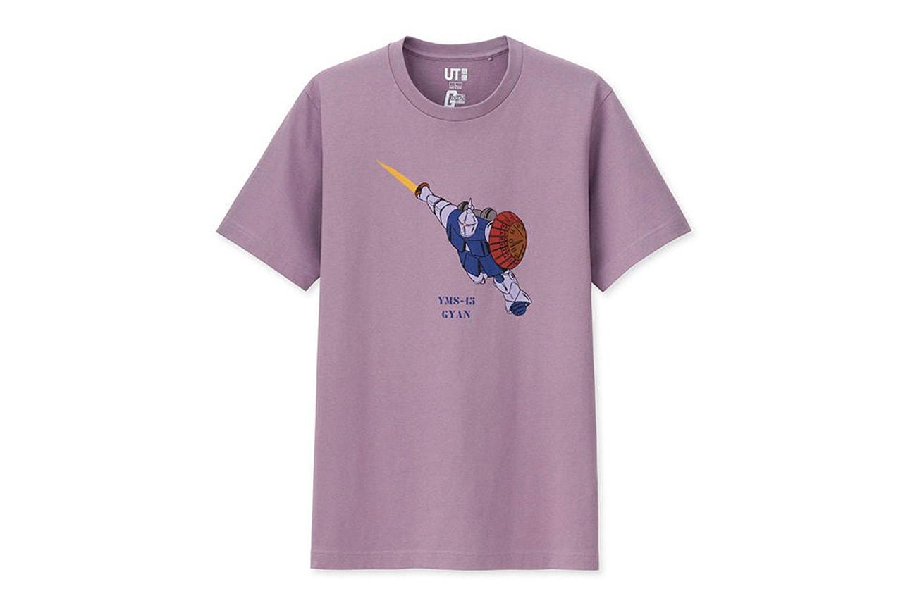 'Gundam' x Uniqlo UT 40th Anniversary Capsule t shirts short sleeved MOBILE SUIT GUNDAM