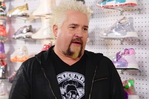 Guy Fieri Talks About Flame Prints on the Latest Episode of 'Sneaker Shopping'