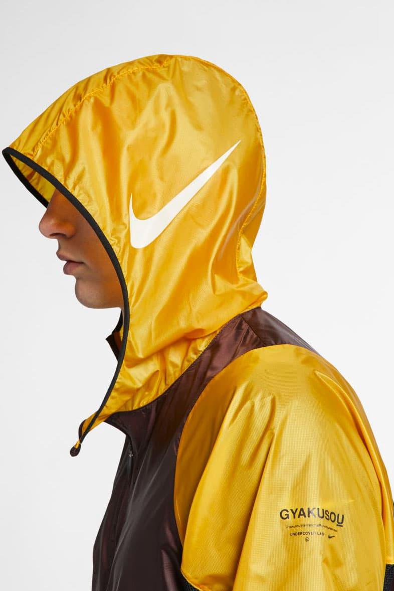 Gyakusou Spring/Summer 2019 Apparel Release drop nikelab jun takahashi undercover collab ss19 buy jacket hat shirt pants running track