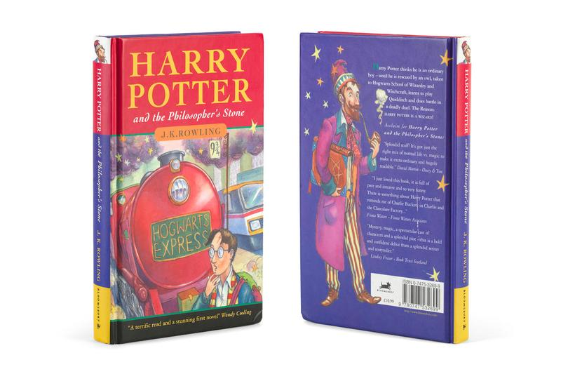 Bonhams Harry Potter and the Philosopher's Stone Auction Info