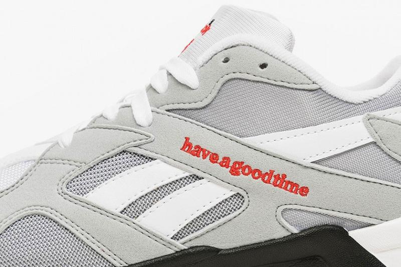 have a good time x Reebok Aztrek Sneaker Collaboration COOL SHADOW COLD GREY DV6436 release date drop info buy april 12 2019