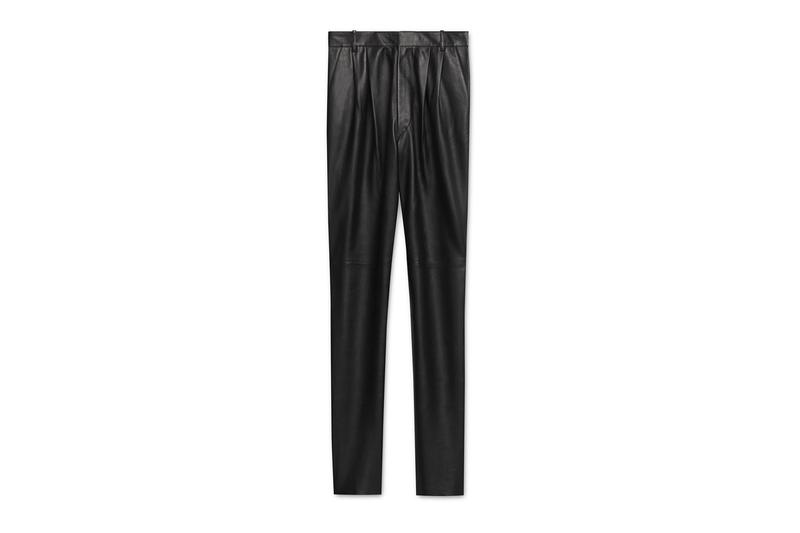 Hedi Slimane Debut CELINE Collection Online Release Available Leather Suit Jacket Pants T shirt