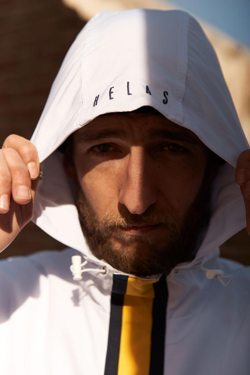 Hélas Spring Collection Lookbook Caps Shirts Tracksuits