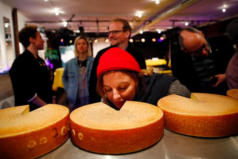 Researchers Played Various Music to Aging Swiss Cheese Reuters a tribe called quest led zeppelin mozart hip hop hip-hop Bern University of Arts Swiss researchers experiment science