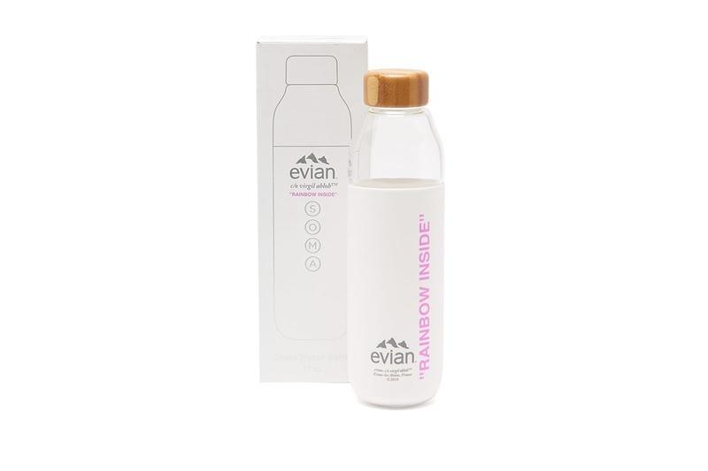 Virgil Abloh x Evian Soma Glass Water Bottle