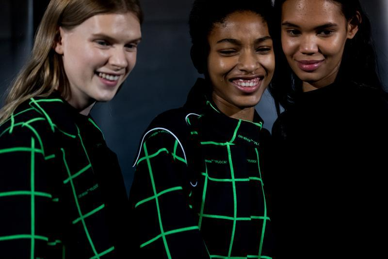 Off-White Paris Fashion Week Runway Show Backstage Photos