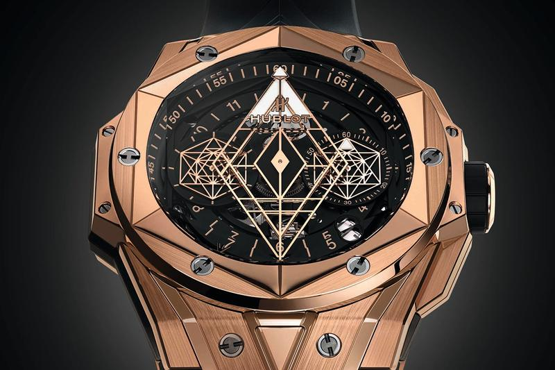 Hublot Big Bang Sang Blue II 2 Baselworld 2019 Release Limited Edition Special Watch Timepiece Wristwatch Maxime Plescia-Buchi 100 pieces rare expensive swiss manufactured tattoo inspired polygons