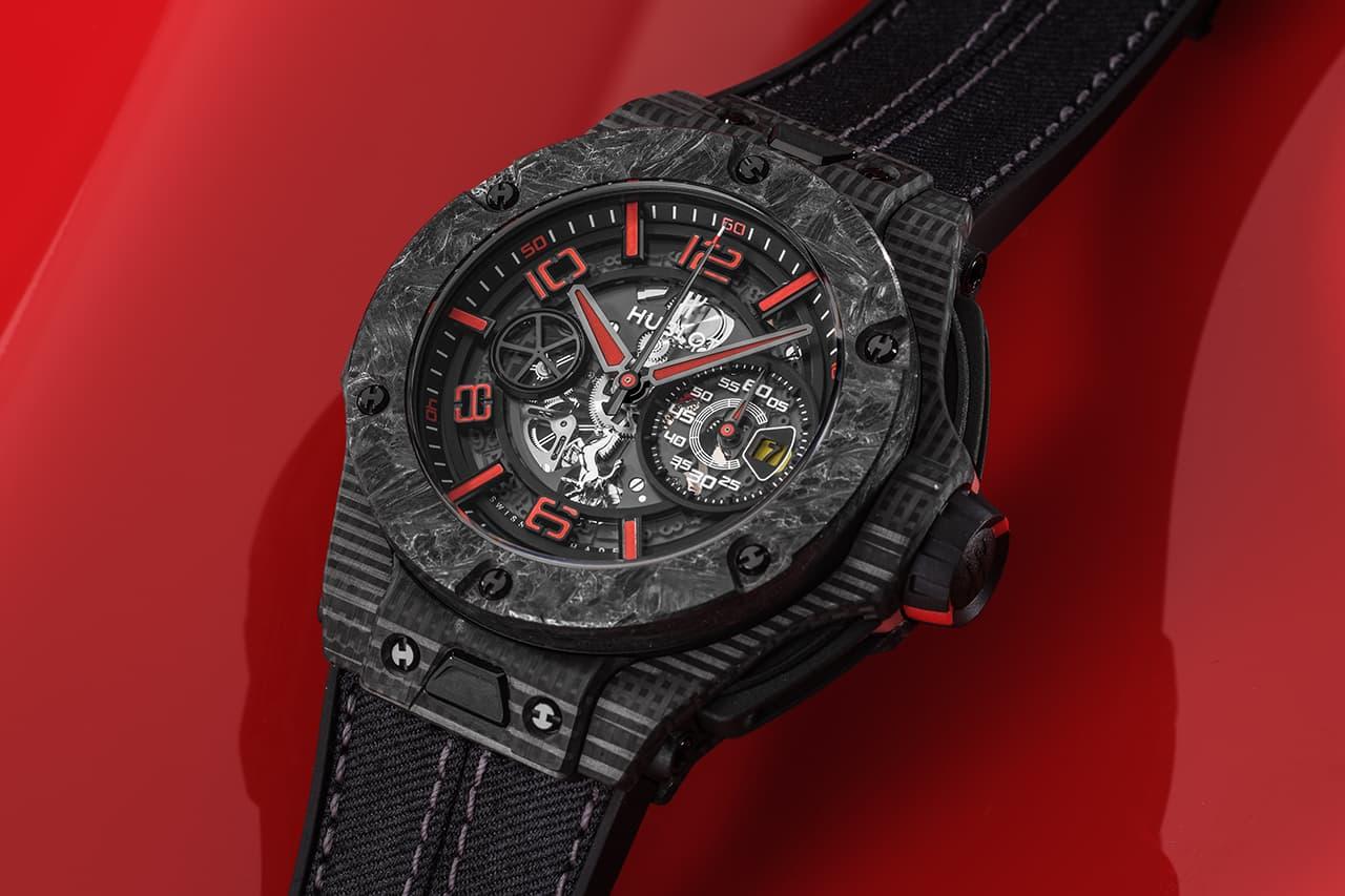 Hublot Creates Limited-Edition Trio of Big Bang Watches for Scuderia Ferrari