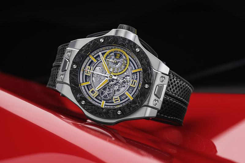 Hublot Big Bang Scuderia Ferrari Anniversary Model Watch Limited Editions 3D Carbon Geneva, Paris, London, New York, Hong Kong, Dubai, Tokyo, Singapore Swiss