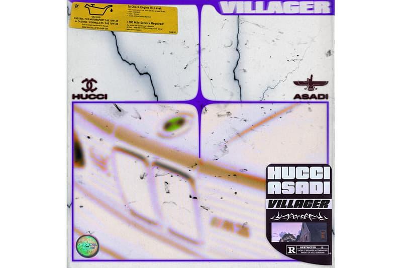 "Hucci & ASADI Team for New Single ""VILLAGER"" persian trap instrumental beats hip-hop balltrapmusic"