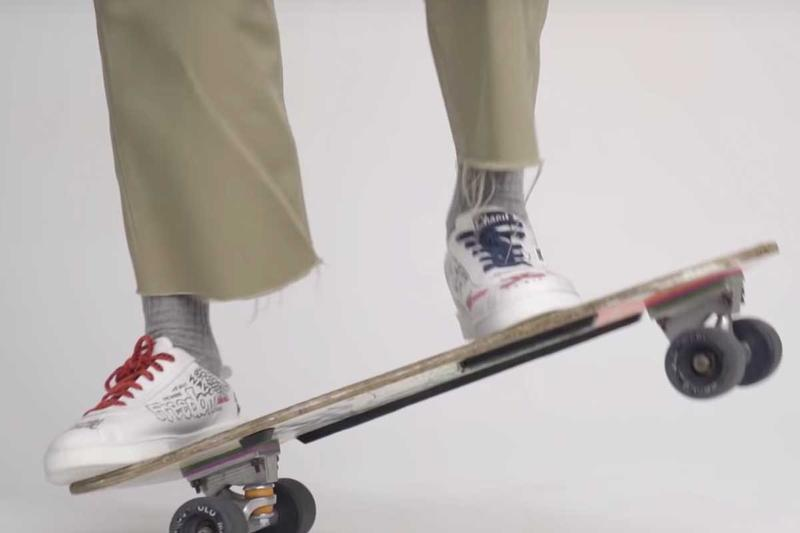Pharrell Teases HUMAN MADE x adidas Sneakers gq france chanel pharrell williams nigo