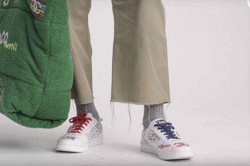 competitive price 6b26e d3bd5 Pharrell Teases HUMAN MADE x adidas Sneakers | HYPEBEAST