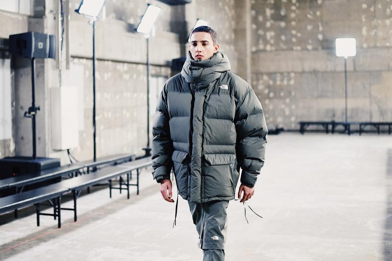 hyke the north face fall winter backstage photos fashion apparel clothing merchandise fashion style