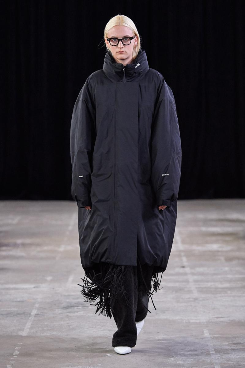 HYKE The North Face Fall/Winter 2019 Collection collaboration release date info on body jacket coat japan fashion week amazon tokyo fw19 men women