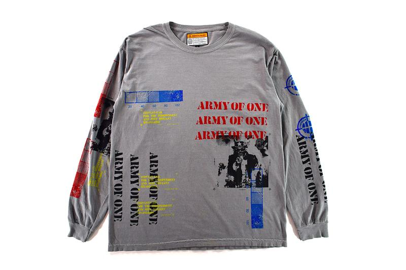 INDVLST Lab Screen Print Kit Volume 2 Release Army of One T Shirt  M65 Field Coat Automated Print Program