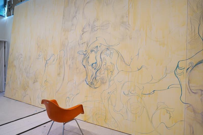 james jean eternal journey lotte museum seoul south korea artworks sculptures installations