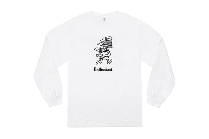 JJJJound Enthusiast T-Shirt Release White JJJJ Fun Products