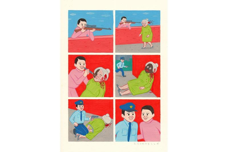 joan cornella keep it real gr gallery exhibition artworks paintings prints canvas paper prints