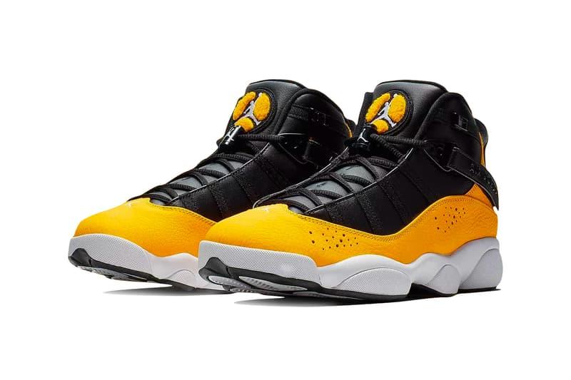 89c245563e3d54 nike. Air Jordan 6 Rings Taxi Release Info Brand Black Yellow