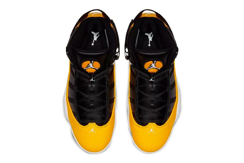 Air Jordan 6 Rings Taxi Release Info Brand Black Yellow