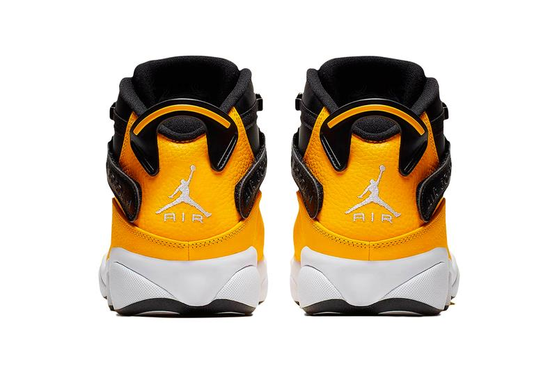 reputable site 43a94 be882 Air Jordan 6 Rings Taxi Release Info Brand Black Yellow