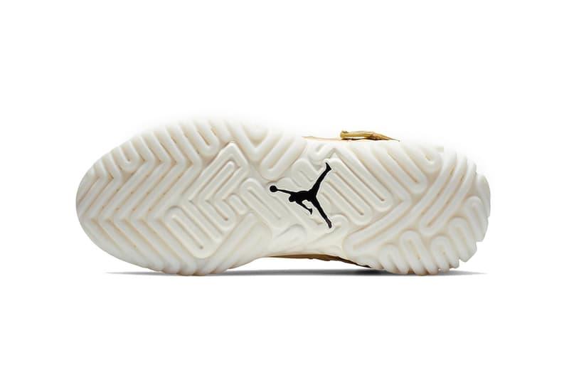 jordan proto react 2019 footwear jordan brand gold white