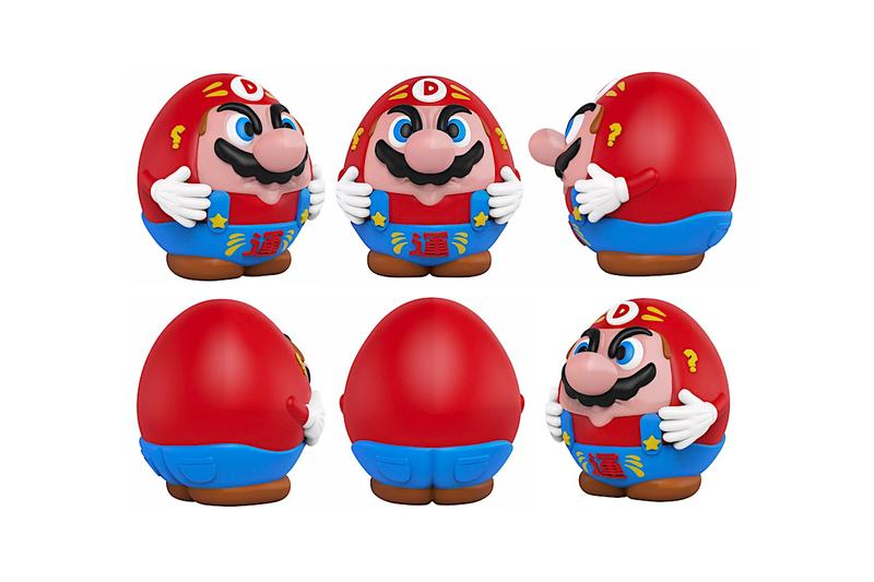 juce gace mighty jaxx darumario super mario daruma collectible vinyl toy
