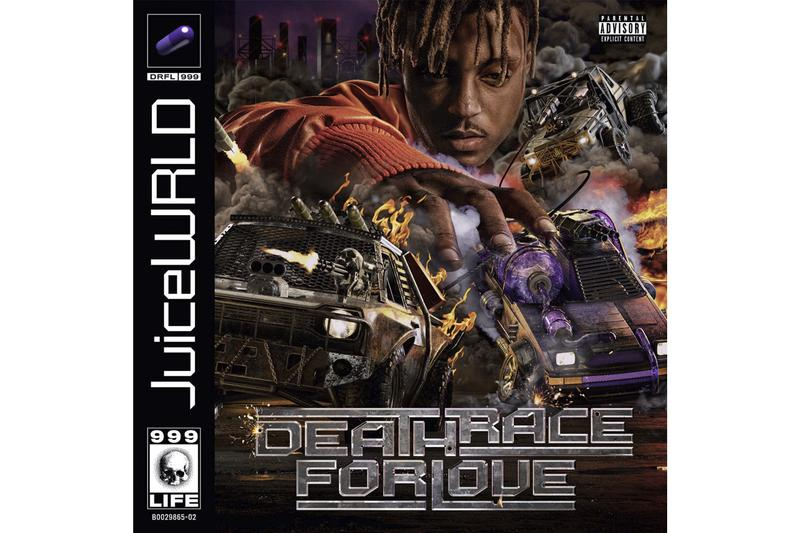 Juice WRLD Deathrace for Love Cover Art Hear Me Calling Stream Merch Release