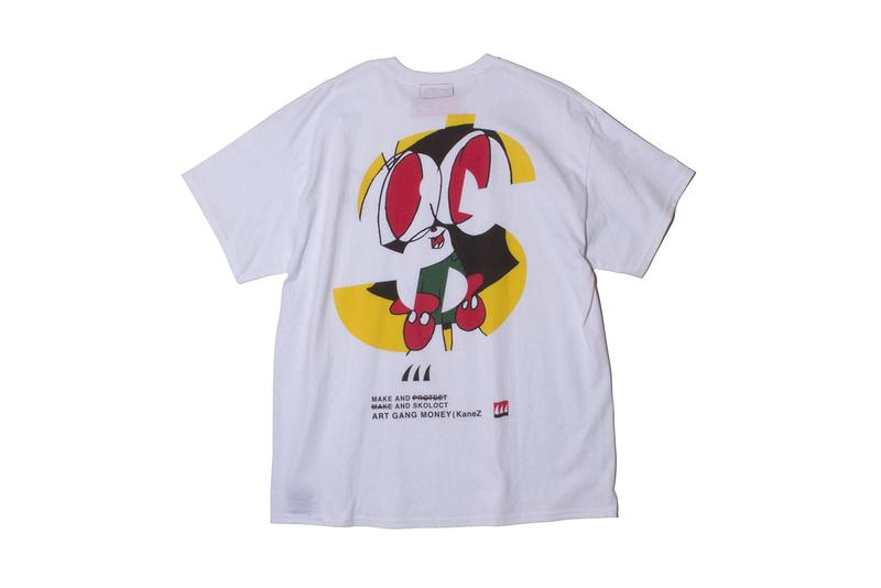 KaneZ  SKOLOCT Launch Exclusive Collection SK8thing Japan Streetwear Fashion Tokyo Graphic Design Art Illustration Collaboration