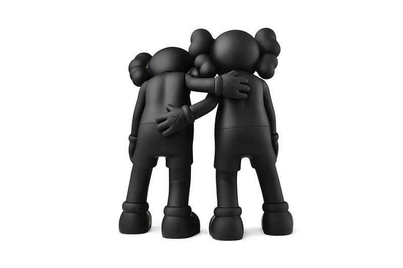 KAWS ALONG THE WAY Figure Release Date Black White Grey Buy