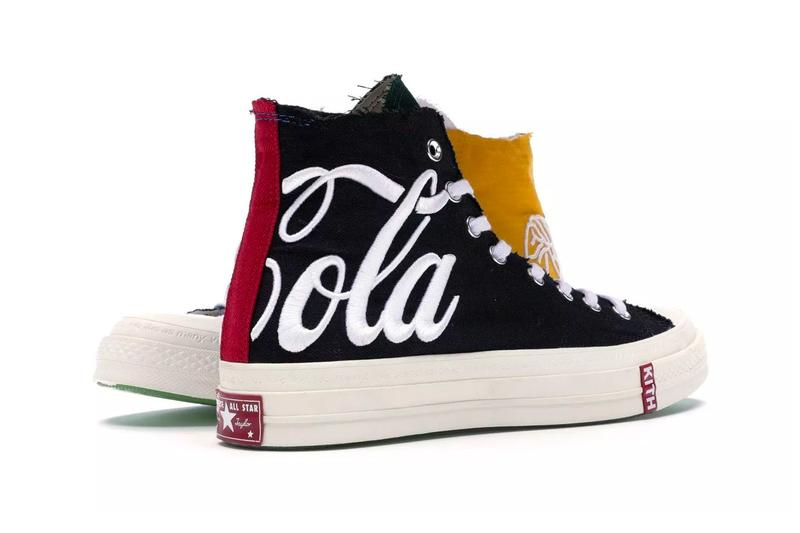 KITH x Coca-Cola Converse Chuck Taylor All Star '70 2019 collaboration first look two-tone follow-up release info price date drop