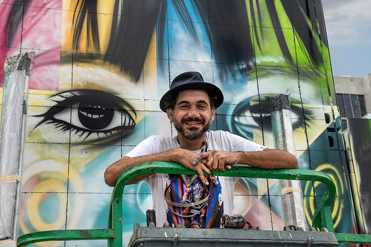 Renown Muralist Kobra Announces First Ever Solo Exhibition